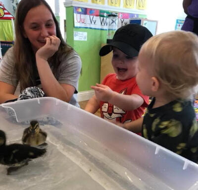 Nature Learning at Shreveport's day care