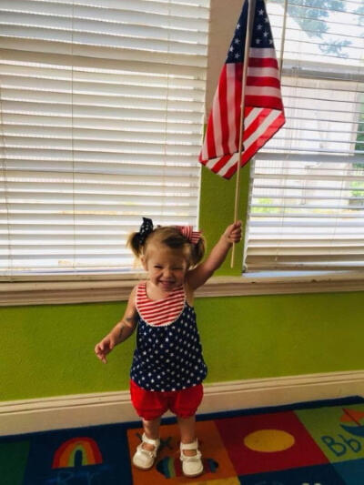 4th of July celebration at child care center